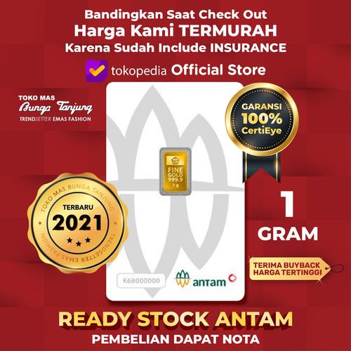 Foto Produk READY STOCK logam mulia ANTAM 2019 - 1 gram dari Bunga Tanjung
