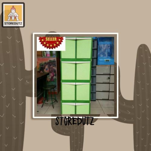 Foto Produk lemari plastik tabitha 4 susun dari StoreDutz