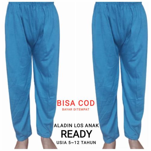Foto Produk Celana ALADIN LOS Anak 5-12 THN/Celana panjang murah/Celana Tidur Adem - PILIH WARNA, 5-6 tahun dari Viva Celamis Murah