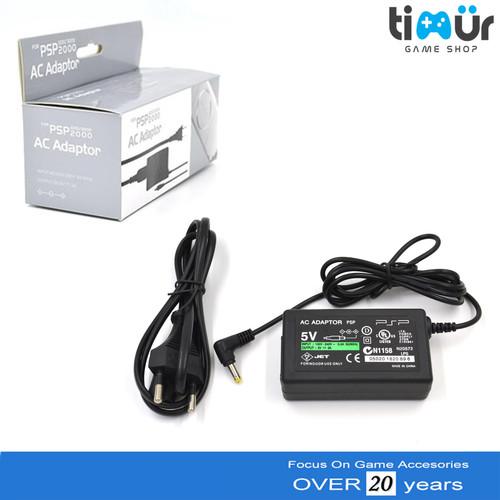 Foto Produk Adaptor Charger PSP Sony 1000 2000 3000 Slim Dan Fat dari Timur Game Shop