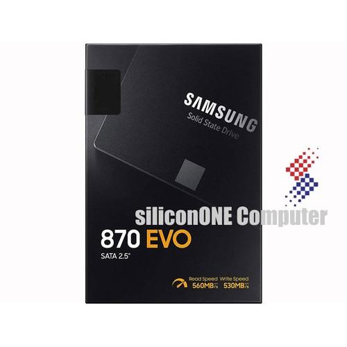 Foto Produk Samsung SSD 870EVO - 500GB 870 EVO 500 GB SATA dari silicon ONE Computer
