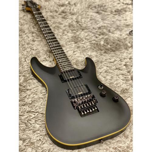 Foto Produk Schecter Demon-6 FR ABSN in Antique Black Satin dari Nafiri Music Store