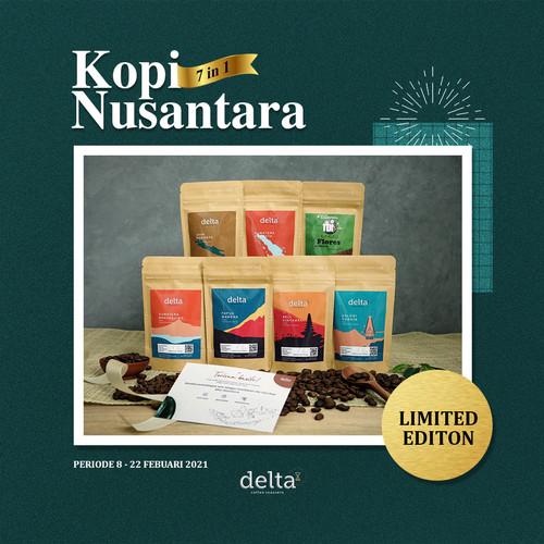 Foto Produk Kopi Nusantara 7 In 1 (sumatra, jawa, flores, papua, sulawesi, bali) dari Taman Delta Coffee Roastery (Supplier Kopi)