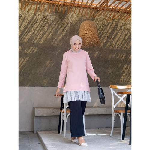Foto Produk Mybamus Karen Under Tile Tunic Dusty M15044 R69S2 dari Mybamus Official