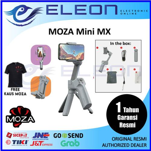 Foto Produk Moza Mini MX 3-Axis Gimbal Stabilizer Smartphone Garansi Resmi 1 Tahun dari ELEON