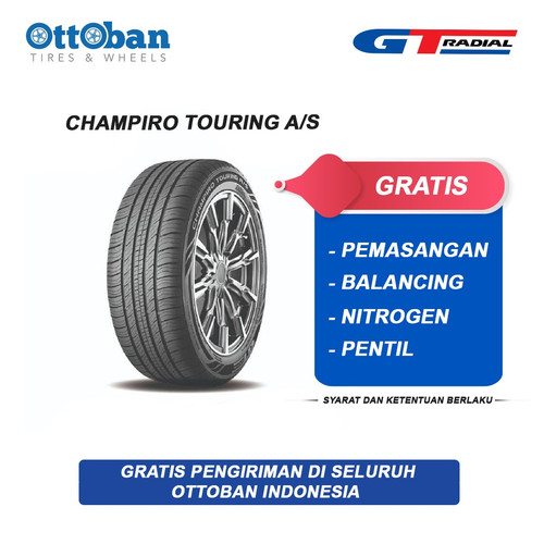 Foto Produk GT Radial Champiro Touring A/S Series 215 60 R17 96H Ban Mobil dari ottoban indonesia