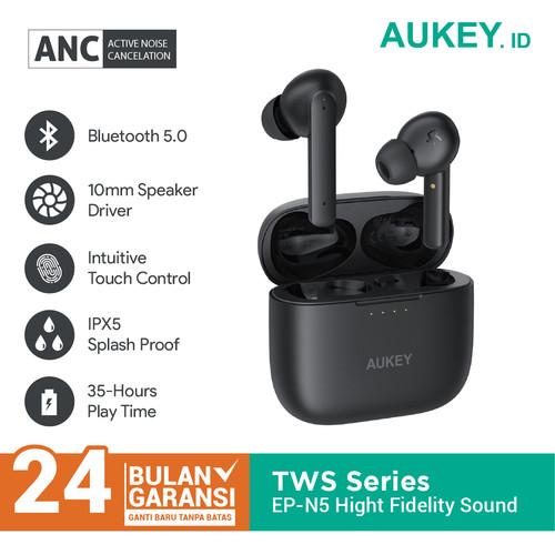 Foto Produk Aukey Earbuds EP-N5 True Wireless High Fidelity Sound - 500537 dari Aukey Makassar