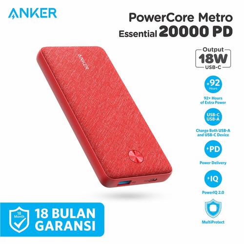 Foto Produk Powerbank Anker Powercore Metro Essential 20000 PD - A1281 dari Anker Indonesia