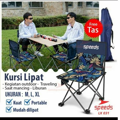 Foto Produk kursi lipat Outdoor Portable Kursi Camping SPEEDS 031-12- M dari Globalsport