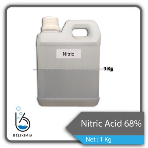 Foto Produk Nitric Acid/ Asam Nitrat/ HNO3 1kg Ex Korea dari belikimia
