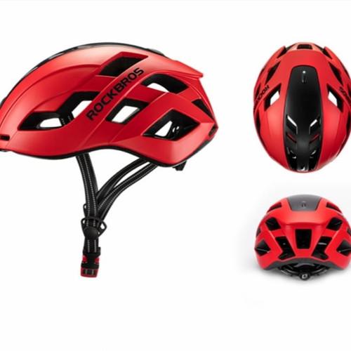 Foto Produk ❤️100% original ❤️ helm sepeda ROCKBROS TS-43 - red dari Koreanholicshop