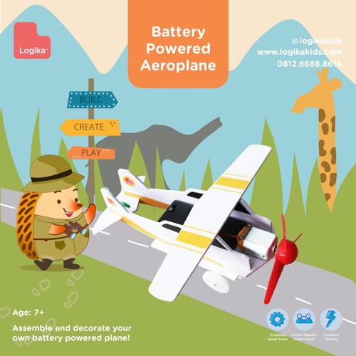 Foto Produk Mainan Edukasi Anak - Battery Powered Aeroplane dari LogikaKids