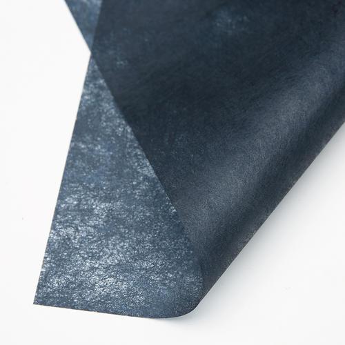 Foto Produk METALLIC MATTE TISSUE PAPER (LEMBARAN) - Kertas Bunga Wrapping Paper - 172 DARK BLACK dari Wood chip store
