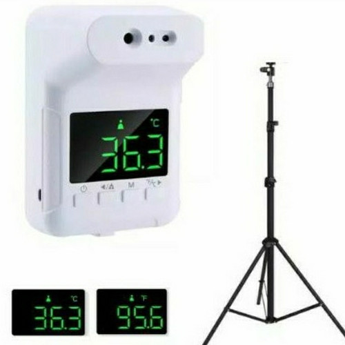 Foto Produk Termometer infrared K3S Stand mendeteksi suhu dahi otomatis non-kontak dari anekacell-cicadas
