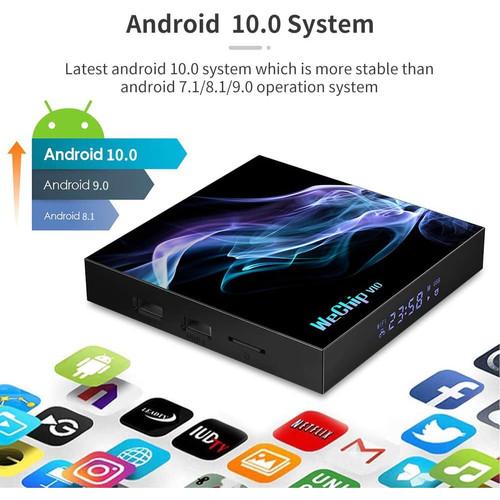 Foto Produk SMART ANDROID TV BOX 4GB ROM 64GB ANDROID 10 KEYBOARD QWERTY PAD dari EtalaseBelanja