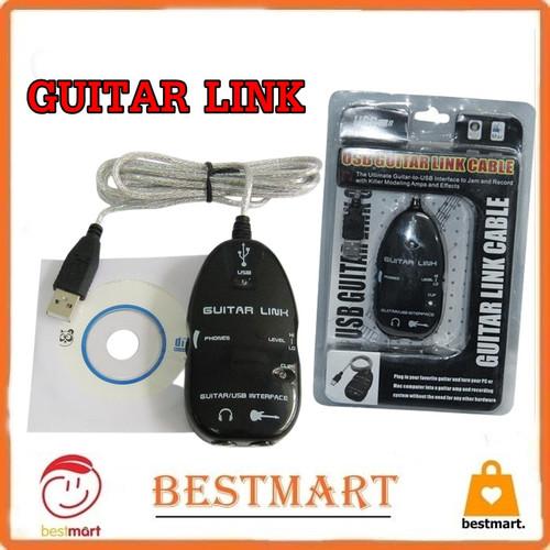Foto Produk Guitar Link USB Cable dari Best Mart