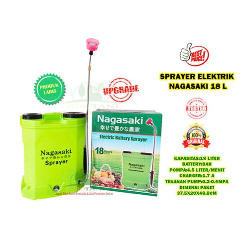Foto Produk Sprayer Elektrik 16 Liter Nagasaki Semprot Pertanian Jepang dari Purotani.ID
