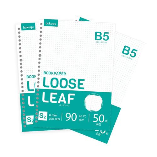 Foto Produk Bookpaper B5 Loose Leaf - DOTTED by Bukuqu dari Bukuqu