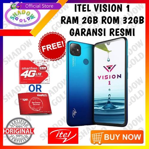Foto Produk Infinix Itel Vision 1 2/32 RAM 2GB ROM 32GB GARANSI RESMI - Biru dari Shadow Gold