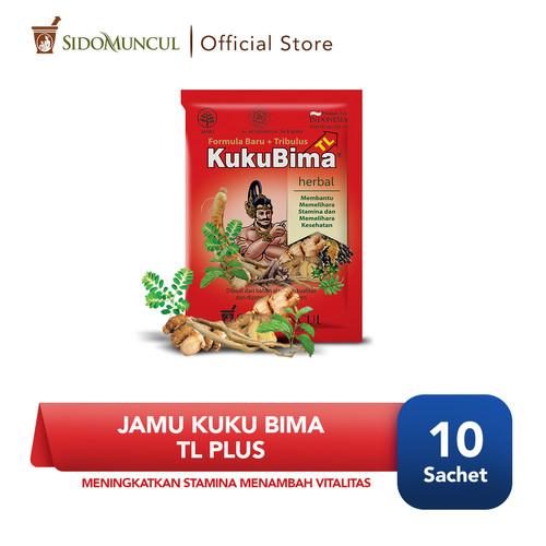 Foto Produk Jamu Kuku Bima TL Plus (Formula Baru + Tribulus) Dus 10's - Vitalitas dari Sido Muncul Store
