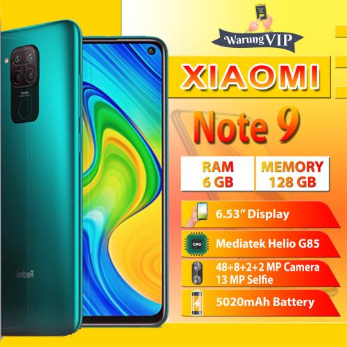 Foto Produk XIAOMI Redmi Note 9 6/128 RAM 6GB ROM 128GB Garansi XIaomi Indonesia - Hijau dari Warung VIP