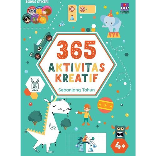 Foto Produk 365 Aktivitas Seru Sepanjang Tahun. Buku Anak BIP Gramedia - Aktvtas Kreatif dari Little Ivy
