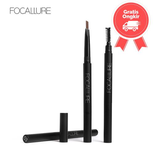 Foto Produk FOCALLURE Waterproof Long-Lasting Eyebrow Pencil FA18 - 3 Colours - FA18-02 dari beauty entity