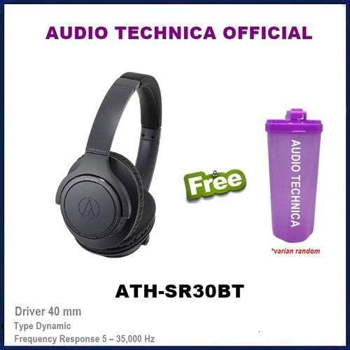 Foto Produk Audio Technica ATH-SR30BT Wireless Over-Ear Headphones Headset SR30 BT dari Official Brands