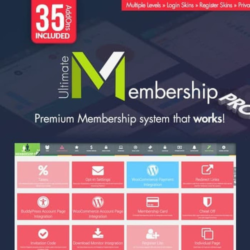 Foto Produk Ultimate Membership Pro - WordPress Membership Plugin dari ABDIM_STORE