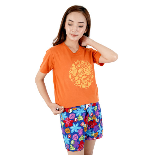 Foto Produk KAOS DAGADU ASELI OFFICIAL - JOGJA ESTEHMEWA (PANJANG) - Orange, L dari Dagadu Official Shop