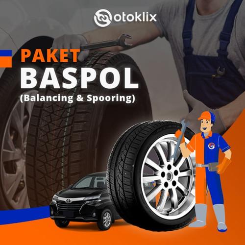 Foto Produk paket otoklix Spooring & Balancing 4roda - simprug dari Otoklix