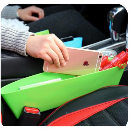 Foto Produk Rak Sudut Selipan Mobil Samping Jok / Car Seat Gap Storage Organizer dari Super Fantastic Shop