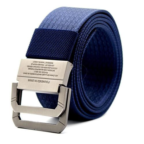 Foto Produk Craftman Tali Ikat Pinggang Pria Canvas Buckle Belt - Biru dari web komputindo