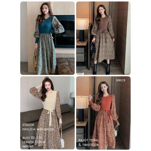 Foto Produk Phylicia Midi Dress Import TM 65000 - Tosca dari PiStar Women