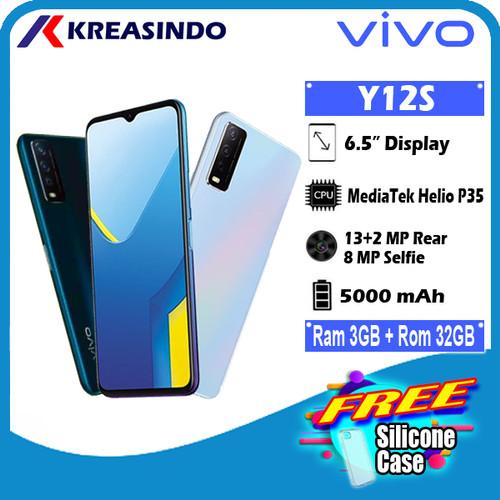 Foto Produk VIVO Y12S 3/32 Ram 3GB Internal 32GB Garansi Resmi - Hitam dari Kreasindo Online