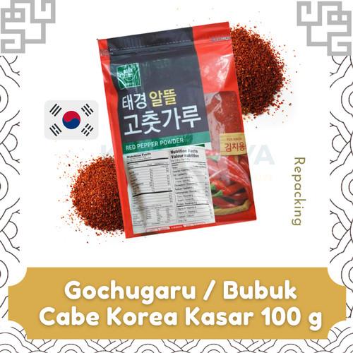 Foto Produk Gochugaru / Bubuk Cabe Korea 100 Gram (Repacking) dari Kimchagiya