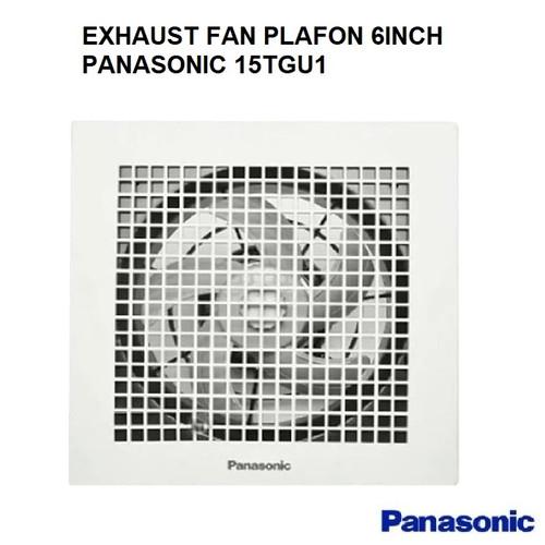 """Foto Produk EXHAUST FAN PLAFON PANASONIC FV-15TGU HEXOS/HEKSOS 6"""" 6 INCH dari whatevr_id"""