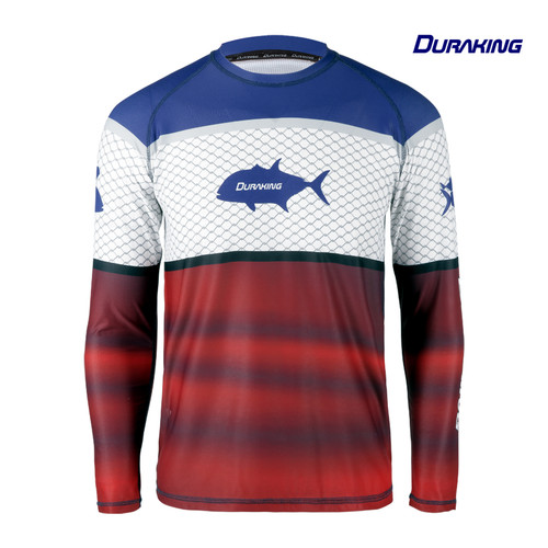 Foto Produk Duraking Jersey Mancing Long Sleeve Valiant - M dari Duraking Outdoor&Sports