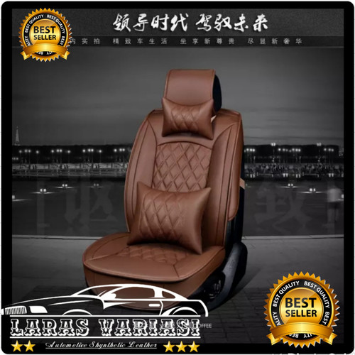 Foto Produk sarung jok mobil kulit Xpander cross sport ultimate premium Carrera dari LARAS VARIASI