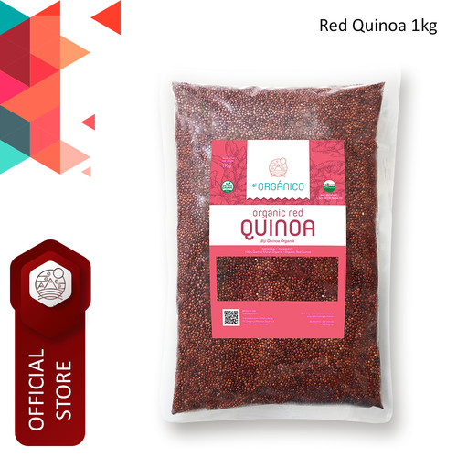 Foto Produk Red Quinoa Organic El Organico 1kg dari ELorganico