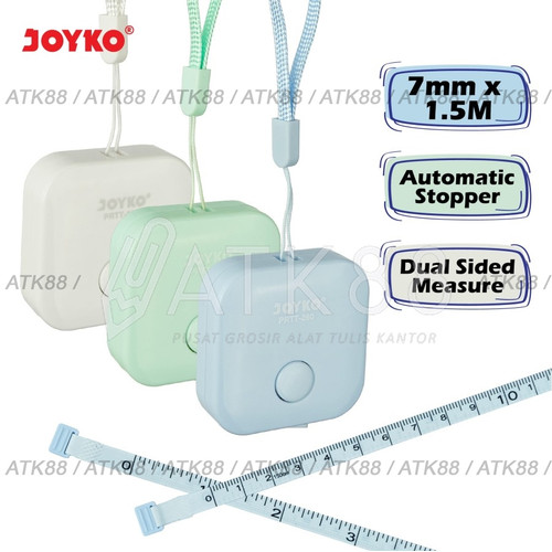 Foto Produk Meteran Jahit / Pocket Ruller Joyko PRTT-280 dari Pusat Grosir ATK 88