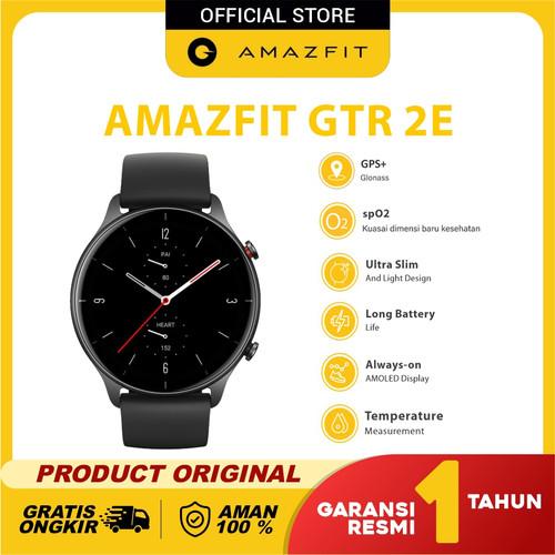Foto Produk Amazfit GTR 2Especial Health & Ultra GTR 2E Garansi Resmi - Obsidian Black dari Amazfit Official