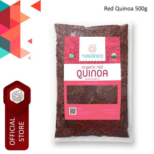 Foto Produk Red Quinoa Organic El Organico 500gr dari ELorganico