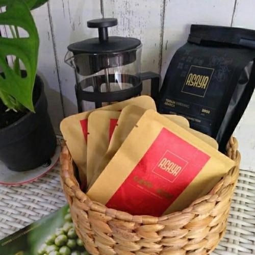 Foto Produk Custom Order French Press Toraja 100G Kopi Drip - BIJI UTUH dari Asaya Coffee