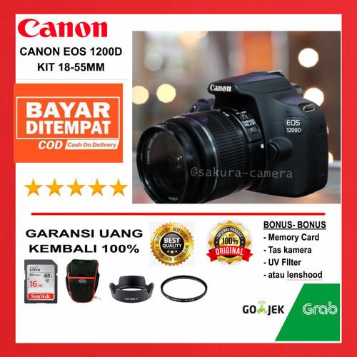 Foto Produk Kamera Canon 1200d - 1200d + 18-55mm dari SAKURA CAMERA
