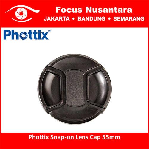 Foto Produk Phottix Snap-on Lens Cap 55mm dari Focus Nusantara