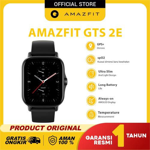 Foto Produk Amazfit GTS 2Especial Health & Ultra GTS 2E Garansi Resmi - Obsidian Black dari Amazfit Official