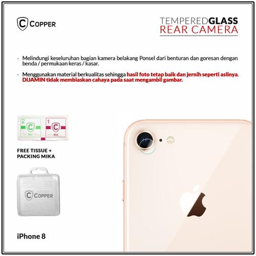 Foto Produk Iphone 8 - Copper Tempered Glass Kamera dari Copper Indonesia