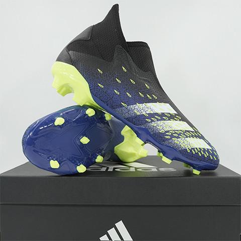 Foto Produk Sepatu Bola Adidas Predator Freak 3 L FG Core Black FY0617 Original - 41 1/3 dari KING OF DRIBBLE