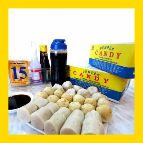 Foto Produk Pempek Candy Paket A Empek Empek Asli Palembang Mpek Mpek dari KEI Pempek